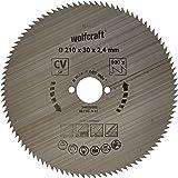 Wolfcraft 6281000 Lame scie circulaire CV 100 Dts Diamètre 210 x 30 mm