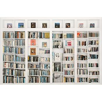 Vliestapete   My Private Library   Fototapete Breit Vlies Tapete Wandtapete  Wandbild Foto 3D Fototapete,