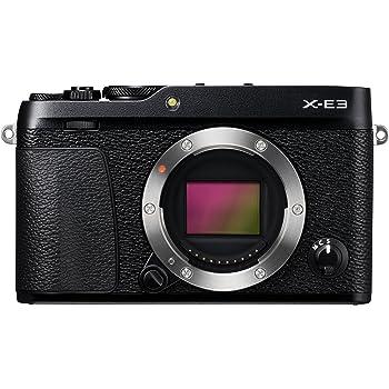 """Fujifilm X-E3 Fotocamera Digitale 24 MP, Sensore CMOS X-Trans III APS-C, Schermo LCD Touchscreen 3"""", Filmati 4 K, Bluetooth, Nero"""