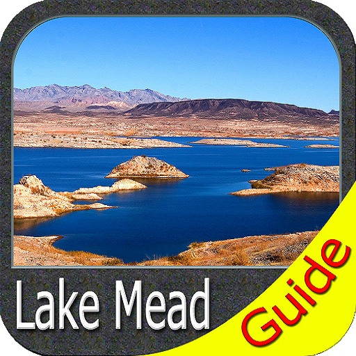 Lake Mead map GPS offline fishing charts Navigator (Lake Mead-chart)