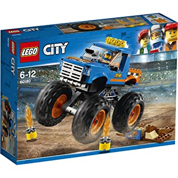 Lego 60180 City Great Vehicles Monster Truck Toy Vehicle