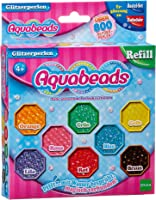 Aquabeads 79378 Kinder Bastelperlen Glitzerperlen