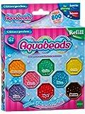 Aquabeads 79378 Glitzerperlen, Kinder Bastelset Nachfüllpack