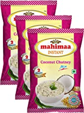 Mahimaa Instant Coconut Chutney Mix, Size- 50G, Pack Of 3