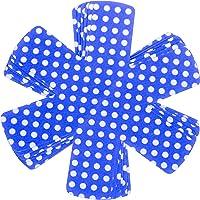 ZKSM 6 Pezzi Protezioni per Padelle  Proteggi Pentole  Salvapadelle in Feltro Adatto per pentole Antiscivolo  Ceramica  Ciotole  padelle  Blu  Lunghezza 38 cm