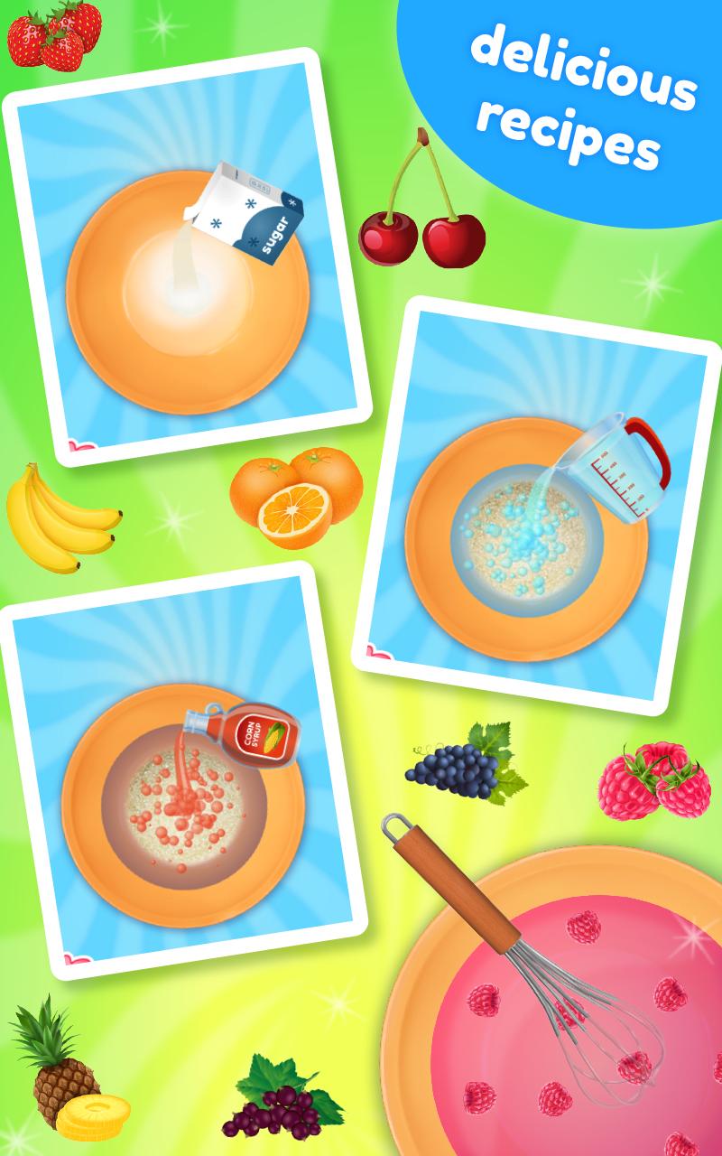Lollipop kids cooking game enfants sucettes jeu - Jeu de cuisine android ...