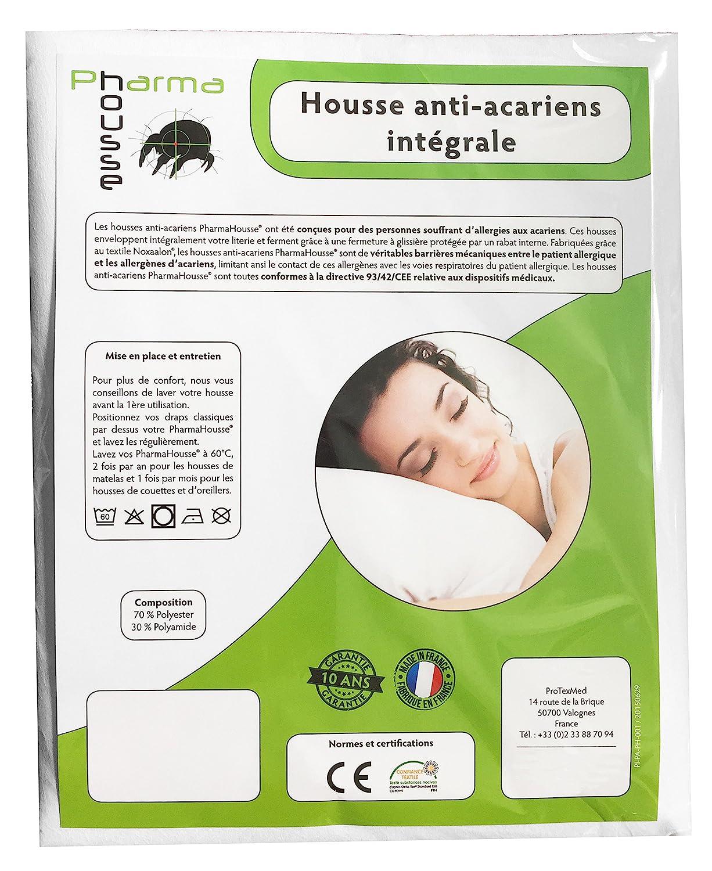 housse anti acariens intégrale pour oreiller qualité médicale