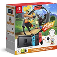 Nintendo Switch + Ring Fit Adventure Bundle - Bundle Limited - Switch