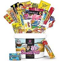 Naschmaschine® SweetsPott einzigartige Süßigkeiten Mystery Box aus aller Welt - 30 Teile Überraschungsbox XXL (Partybox…