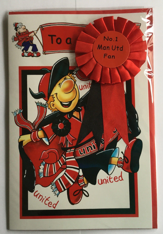 MAN Utd fan di compleanno con rosetta