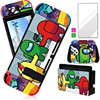 Darrnew Angel Among Skin per Nintendo Switch Cartoon Cute Fun Skins, Kawaii Unique Kids Men Boys Switch Game Sticker…