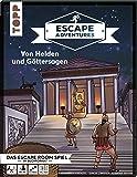 Escape Adventures – Von Helden und Göttersagen: Das ultimative Escape-Room-Erlebnis jetzt auch als Buch! Mit XXL-Mystery…