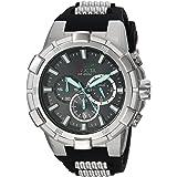 Invicta Men's Aviator Stainless Steel Quartz Watch with Polyurethane Strap, Two Tone, 30 (Model: 23692)