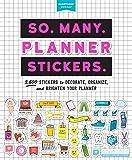So. Many. Planner Stickers. (Pipsticks+workman)