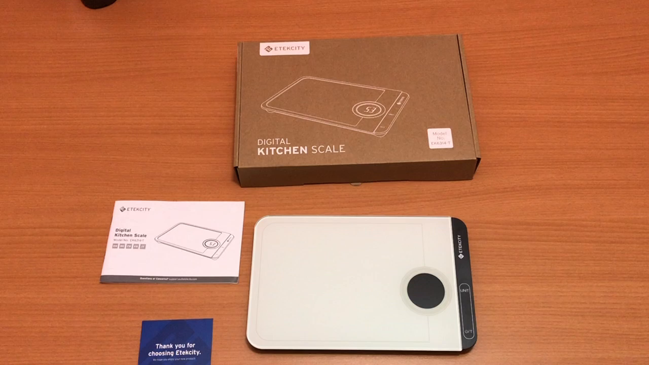 Amazon.es:Opiniones de clientes: Etekcity EK6314-T Báscula Digital de Cocina, 5kg / 11lb, Balanza de Alimento con Gran Plataforma de Vidrio Templado, ...
