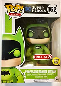 Funko 12816–DC Comics, Pop Vinyl Figure 162Professor Radium Batman Glow In The Dark
