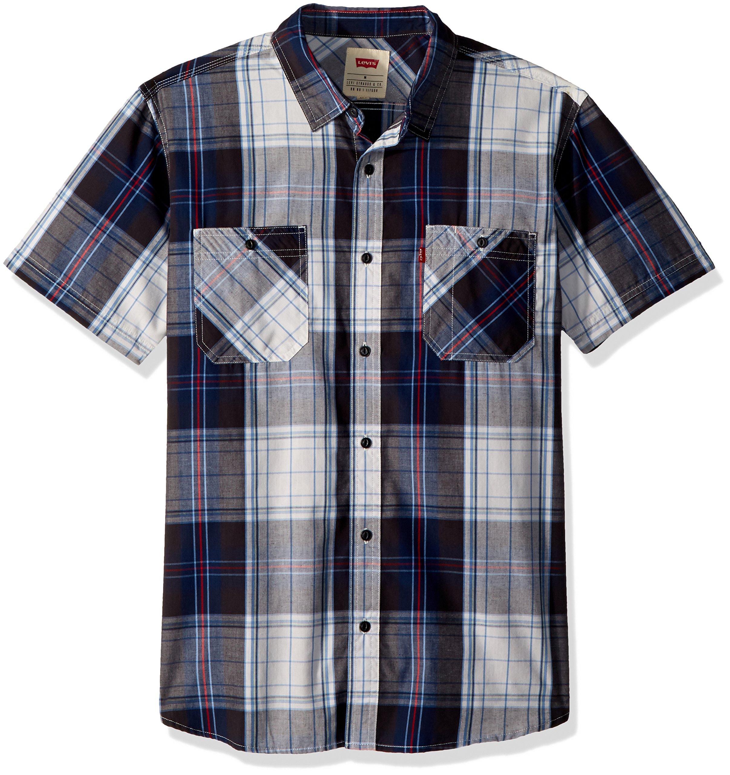 Levi's Hombre 3LYSW11262 Manga Corta Camisa de Botones