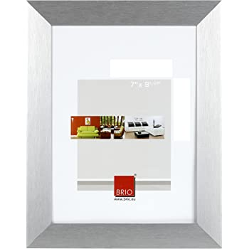 brio neptune bilderrahmen geb rstetes aluminium 10 x 15 cm silber. Black Bedroom Furniture Sets. Home Design Ideas
