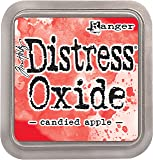 Ranger Tim Holtz Distress Oxide Pad-Candied Apple, Synthetic Material, Red, 7.5 x 7.5 x 1.9 cm