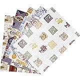 ARCA Carta da Regalo con 5 Fogli Assortiti Misura 100x 70 cm Uomo (A30)