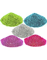 Asian Hobby Crafts Glitter Sparkle Powder (Pack of 5)