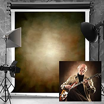 KateHome PHOTOSTUDIOS 5×7ft(1.5×2.2m) Background Abstract Photography Backdrops Brown Microfiber Backgrounds Retro Background Portrait for Photo Studio Props