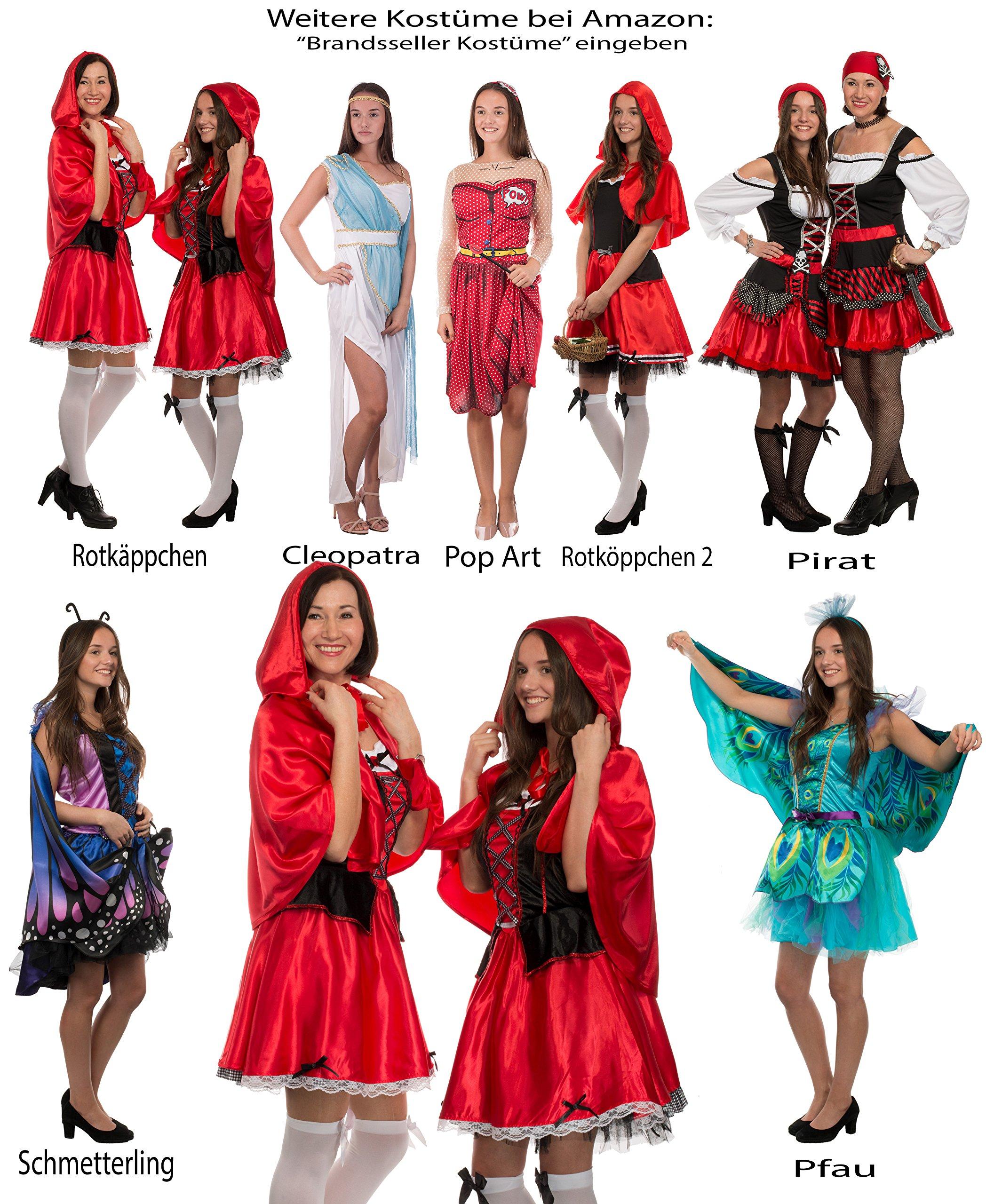 b4fdfdf3fb839 Brandsseller Karneval Damen Kostüm/Fasching/Halloween-Parties – [ Motive:  Rotkäppchen] Junggesellenabschied | preisluchs.com