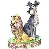 """Disney Traditions, Figura de Reina y Goldo de """"La Dama y el Vagabundo"""", Enesco"""