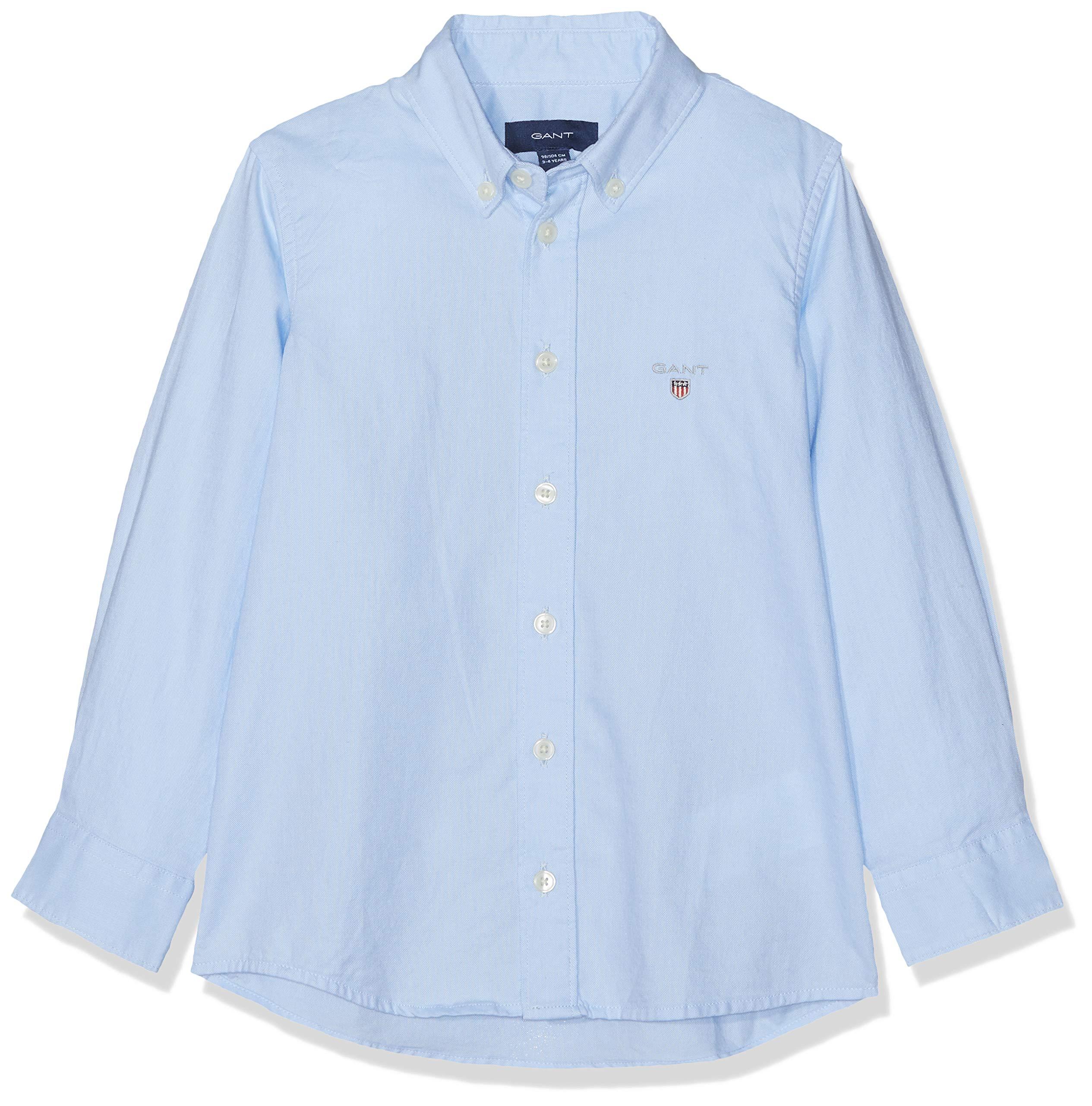GANT D1. The Archive Oxford B.d. Shirt Blusa, Azul (Capri Blue 468), 104 (Talla del Fabricante: 98/104) para Bebés 1