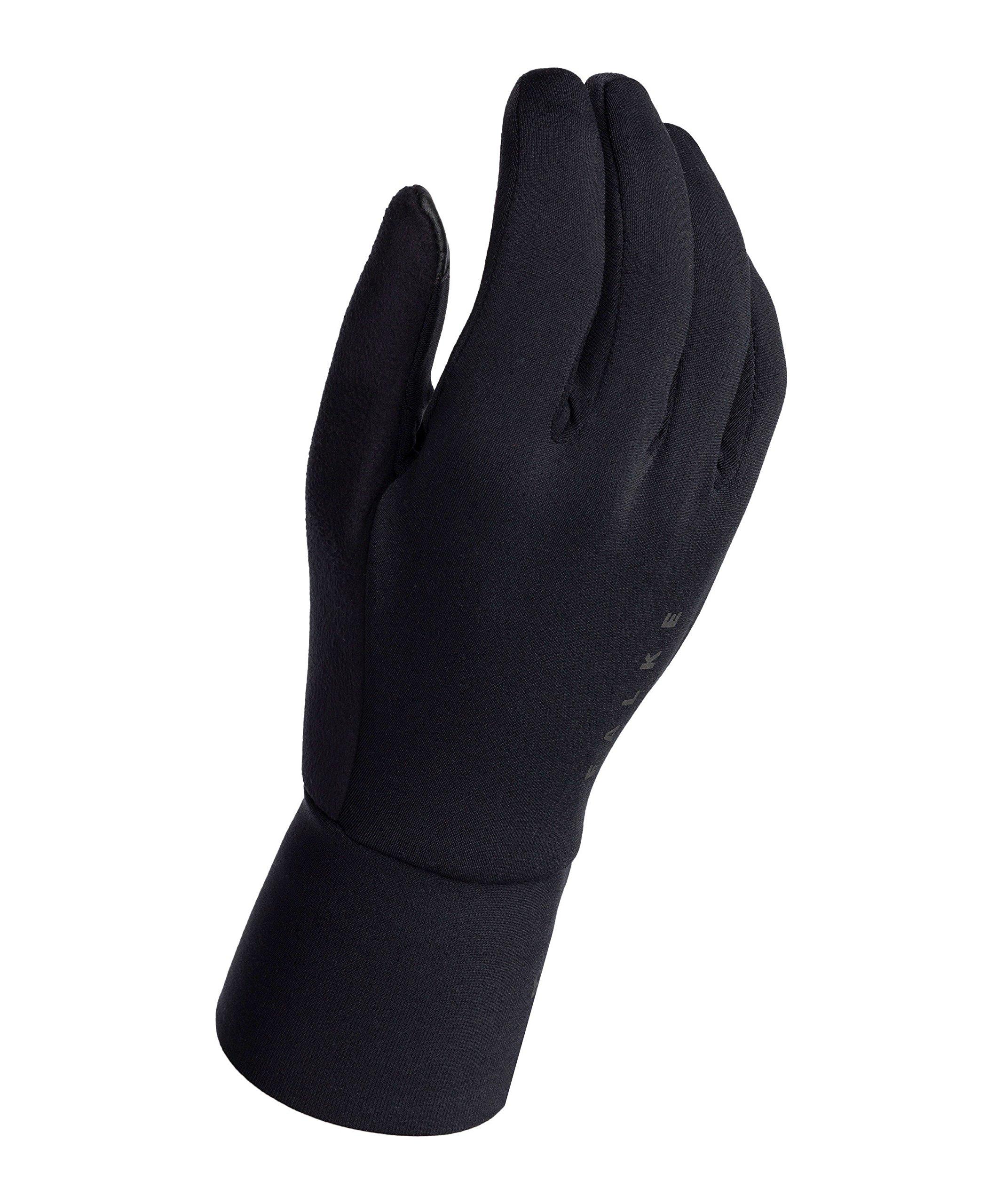 FALKE Herren Gloves Brushed Unisex Accessoires Black M-L