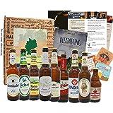 Coffret cadeau de voyage de bière en Allemagne comme idée cadeau avec 9 x 0,33 spécialités de bière d'Allemagne meilleures bières d'Allemagne à essayer