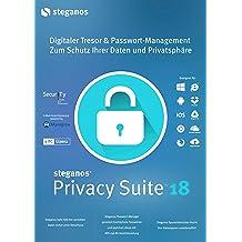 Steganos Privacy Suite 18 - Der effektive Schutz für Ihre Daten und Passwörter - für Windows® 10, 8 oder 7, iOS und Android [Download]