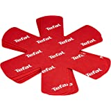 Tefal K2203004 Set de 4 intercalaires Protecteurs de Poêle Rouge ustensile de cuisine