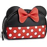 Disney Minnie Mouse Kulturbeutel Damen, Kulturtasche Mädchen und Frauen, Reise Make Up Tasche, Lustige Kosmetik Reisetasche D