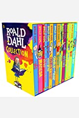 Roald Dahl 15 Book Box Set (Slipcase) Includes Matilda, Witches, The Twits, Fantastic Mr Fox, Charlie & the Chocolate Factory, Georges Marvellous Medicine, The BFG, Danny the Champion of the World.... Paperback