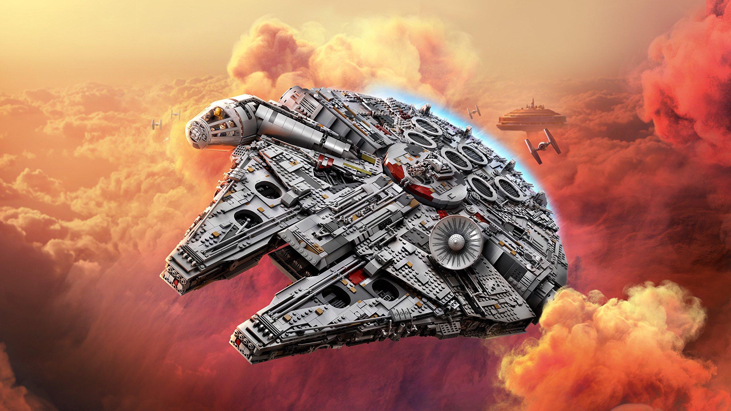 LEGO Millennium Falcon Costruzioni Piccole Gioco Bambina Giocattolo 140, Multicolore, 5702015869935 2 spesavip