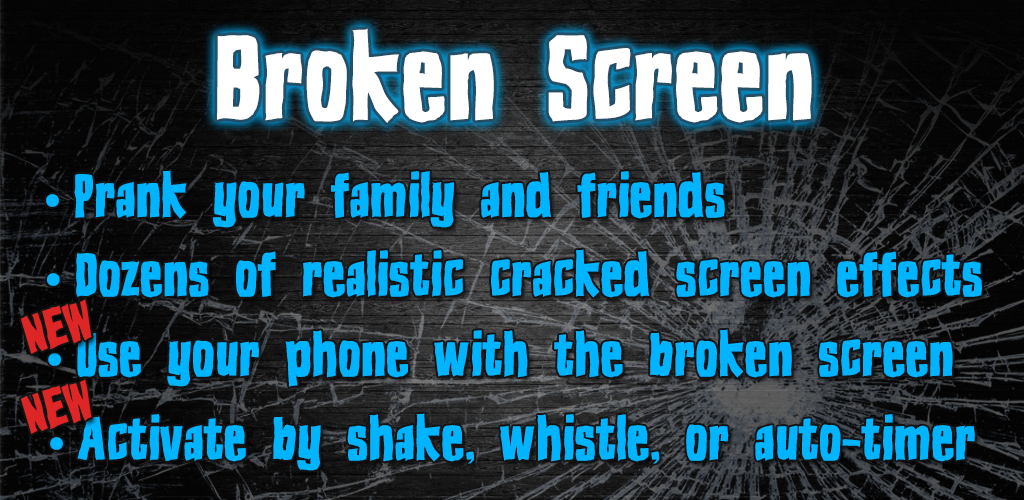 Best Broken Screen Prank App