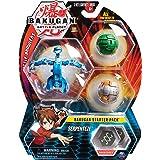 Bakugan Starter 3 Pack - Mix 2 - Peonzas (Batalla de trompos, Multicolor, De plástico, 6 año(s), Niño/niña, China) , color/mo