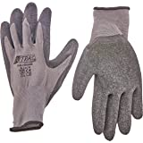 Nitras 3520 NYLOTEX nylon latex werkhandschoenen, grijs/zwart, maat 10/XXL, paar, verpakking van 12