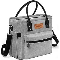 Sac Isotherme Repas, longzon 10L Grande capacité Isothermal Lunch Box Isotherme Bag Boite Repas,Sac Isotherme Bureau…