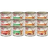 Comida para gatos animonda Carny Kitten, comida húmeda para gatos hasta 1 año, pack mixto, 12 x 200 g