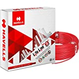 Havells Life Line Plus S3 1 sq mm PVC HRFR Cable (Red)