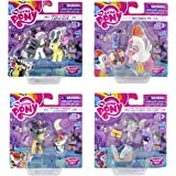 Hasbro My Little Pony Nightmare Night Toys and Collectibles Set de 4 para niños