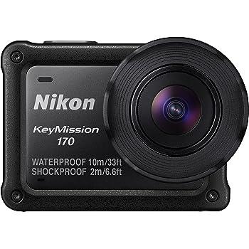 Nikon KeyMission 170 Action Camera, Nero