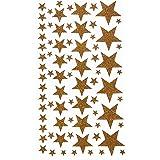 Artemio 11004501 Stickers Etoiles, Papier, Or, 14 x 0,2 x 28 cm