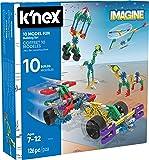 K'NEX 34335 - Bau- und Konstruktionsspielzeug Set 10 Model Fun, Baukasten Lustige Konstruktionen mit 126 Teilen, Konstruktionsset für 10  Modelle, Bauset für Kinder von 7 bis 12 Jahre, Building Set