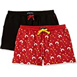 Allen Solly Junior Girl's Shorts (Pack of 2)