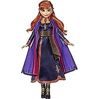 Hasbro Disney Die Eiskönigin Singende Anna Puppe mit Musik in lila Kleid zu Disneys Die Eiskönigin 2, Spielzeug für…