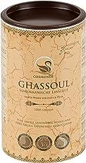 cosmundi Ghassoul Marokkanische Lavaerde Pulver 1 kg Mineralische Tonerde für Haarwäsche Körperpflege Gesichtsmaske & Peeling