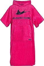 Atlantic Shore | Surf Poncho ☆ Bademantel / Umziehhilfe aus hochwertiger Baumwolle ➤ Pink
